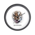 Tiger, Tiger Wall Clock