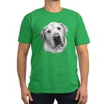 Max, Lab-Bull Terrier Mix Men's Fitted T-Shirt (da