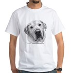 Max, Lab-Bull Terrier Mix White T-Shirt