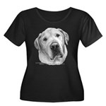Max, Lab-Bull Terrier Mix Women's Plus Size Scoop