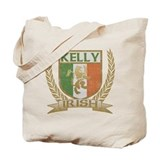 Kelly Irish Crest Tote Bag