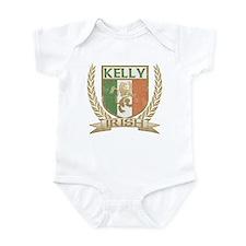 Kelly Irish Crest Infant Bodysuit