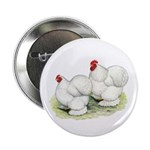 "Cochins White Pair 2.25"" Button (10 pack)"