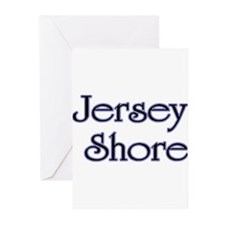 Jersey Shore Blue Greeting Cards (Pk of 10)