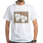Bantam Cochins White T-Shirt