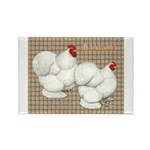 Bantam Cochins Rectangle Magnet (10 pack)