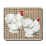 Bantam Cochins Mousepad
