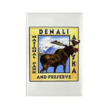 Denali National Park and Pres Rectangle Magnet