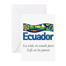 Cute Ecuador Greeting Cards (Pk of 10)