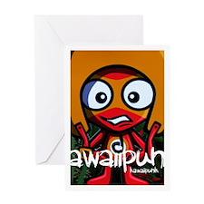 Daredevil Mascot Photo Greeting Card