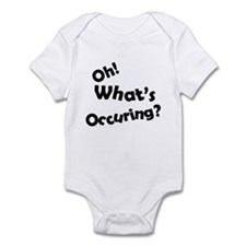 Oh! What's Occuring? Infant Bodysuit
