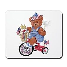 """Bike Bear"" Mousepad"