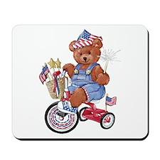 """Bike Bear"" Mousepad"