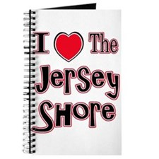 I love the jersey shore red Journal