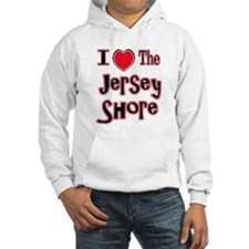 I love the jersey shore red Hoodie