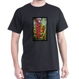 Kew Flower Photo Black T-Shirt