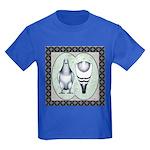 American Show Racer Standard Kids Dark T-Shirt