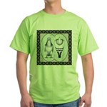 American Show Racer Standard Green T-Shirt