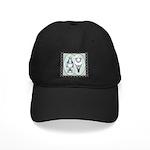 American Show Racer Standard Black Cap