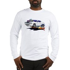 Challenger White Car Long Sleeve T-Shirt