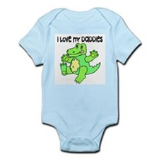 #2 I Love My Daddies Infant Creeper
