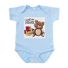 #1 I Love My Daddies Infant Creeper