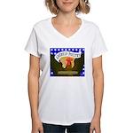 American Poultry Women's V-Neck T-Shirt