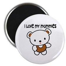 #9 I Love My Mommies Magnet