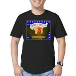 American Poultry Men's Fitted T-Shirt (dark)