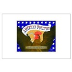 American Poultry Large Poster