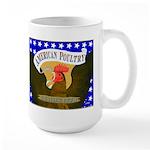 American Poultry Large Mug