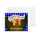 American Poultry Greeting Cards (Pk of 10)
