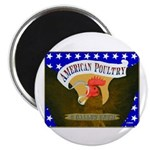 """American Poultry 2.25"""" Magnet (100 pack)"""