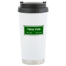 Tahoe Vista Ceramic Travel Mug
