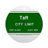 Taft Ornament (Round)