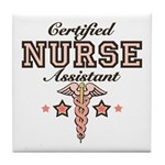 Certified Nurse Assistant Tile Coaster