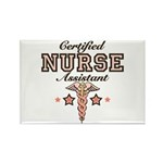 Certified Nurse Assistant Rectangle Magnet (100 pa