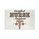 Certified Nurse Assistant Rectangle Magnet (10 pac