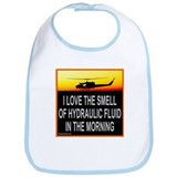 SMELL OF HYDRAULIC FLUID Bib