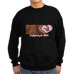 Chihuahua Girl Sweatshirt (dark)