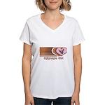 Chihuahua Girl Women's V-Neck T-Shirt