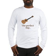 ukulele uke Long Sleeve T-Shirt