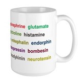 Large Neurotransmitters Mug