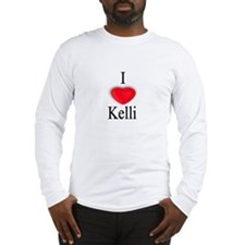 Kelli Long Sleeve T-Shirt