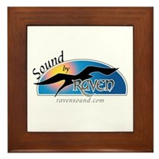 Raven Sound Logo Framed Tile