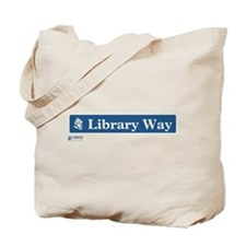 Library Way in NY Tote Bag