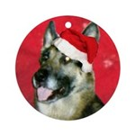 CanineCancerAwareness Ornament (Round)