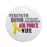 Air Force Wife Christmas Ornament