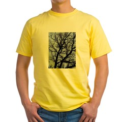 Twilight Tree Yellow T-Shirt