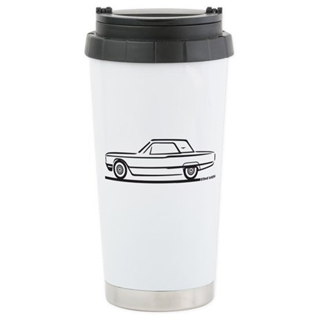 1964 Ford Thunderbird Hardtop Ceramic Travel Mug